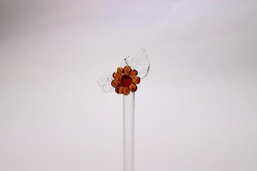 花のマドラー(耐熱)