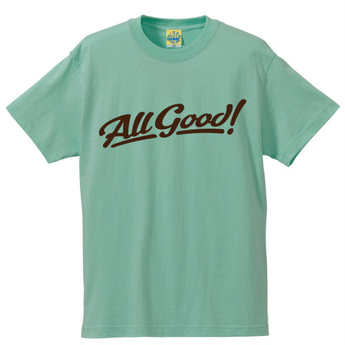 [All Good] T-shirt / Melon