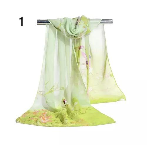 ベリーダンスピンクスカーフ 160 * 50センチマルチスタイルホリデーギフト販売シフォンストライプスカーフ野生のファッションショール日焼け止めプリント花柄スカーフスカーフ