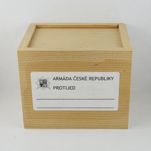 MEDICINAL WOODEN BOX(L)