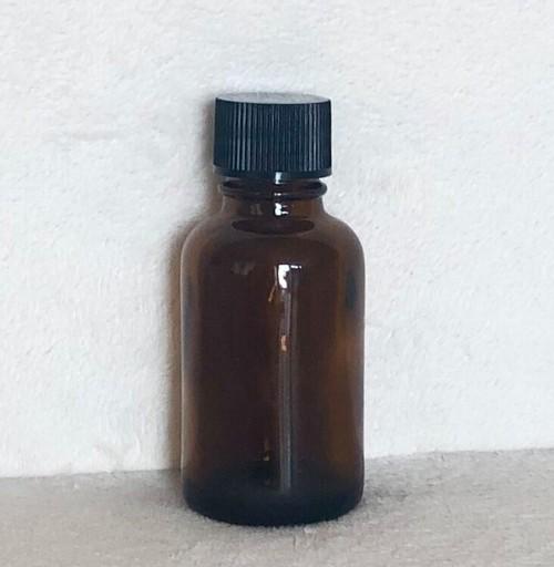 中止栓付き茶色遮光瓶30ml