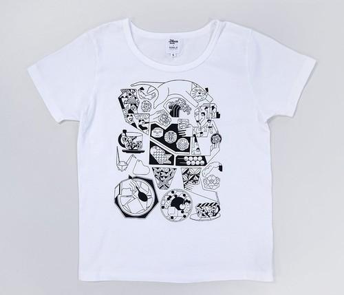★SALE&送料無料★【久米繊維×TIS】「シタマチ」Tシャツ カラー:白