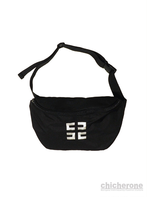 【UAUA】 BODY BAG BLACK