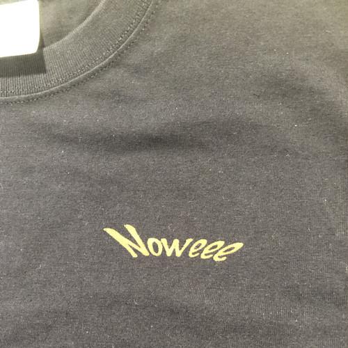 Noweee ロングTシャツ Surfingバージョン ネイビー メンズ