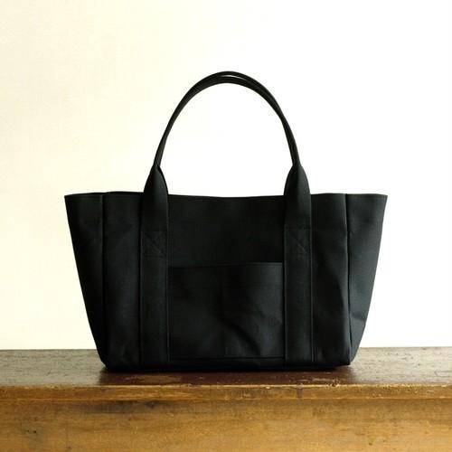 トートバッグ 01 黒 / 帆布(6号)