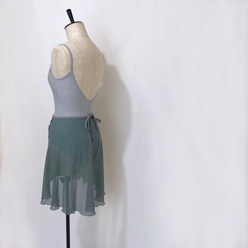"""❖""""Fiorina"""" Ballet Wrap Skirt -  Verde Azul [Sheer]( ヴェルデ アズール [シアー])"""
