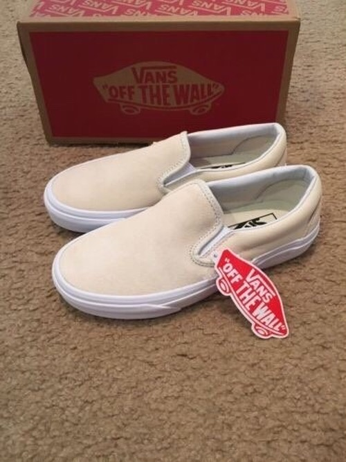 VANS CLASSIC SLIP ON AFTER GLOW/TRUE WHITE バンズ クラシック スリップオン アフターグロー トゥルーホワイト  VN0A38F7OXL