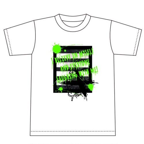 さきぽん・SAKIオリジナルTシャツ【ホワイト】
