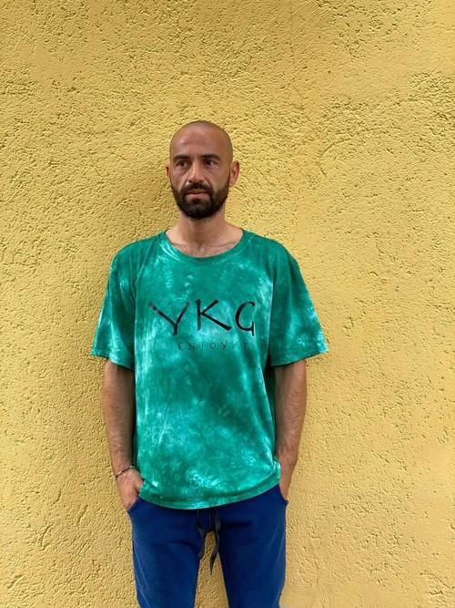 【YKG】マクラート Tシャツ【グリーン】【新作】イタリアンウェア《M&W》
