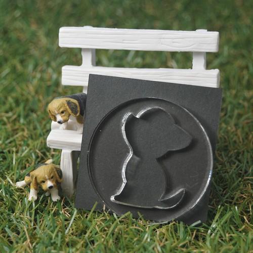 ぷっくりメーカー(犬シルエットーA)