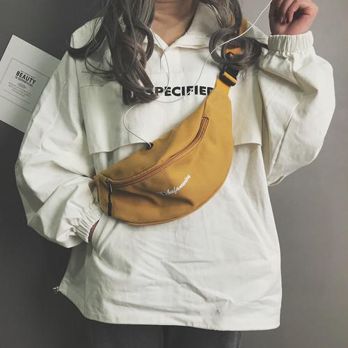 【バッグ&シューズ】韓国系個性的ファッション帆布肩掛け斜め掛けバッグ17383454