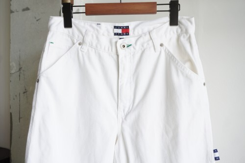 early 00's Tommy Hilfiger white carpenter Pants