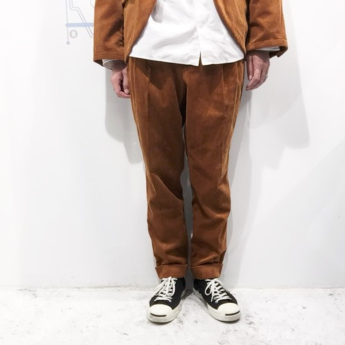 YOKO SAKAMOTO 【ヨーコサカモト】 CLASSIC SLIM SLACKS PANTS