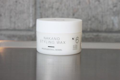 ナカノ スタイリングワックス プロフェッショナルモデル6
