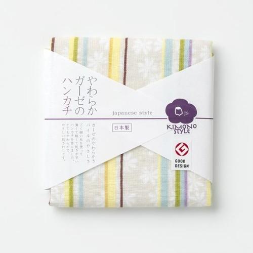 やわらかガーゼのハンカチ(いろあそび)[0130260398]