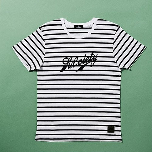 subciety サブサエティ / BORDER TEE S/S-VIC.- Tシャツ / 10492