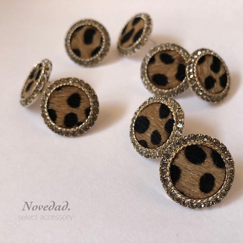 leopard bijou pierce