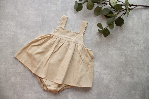 scallop rompers