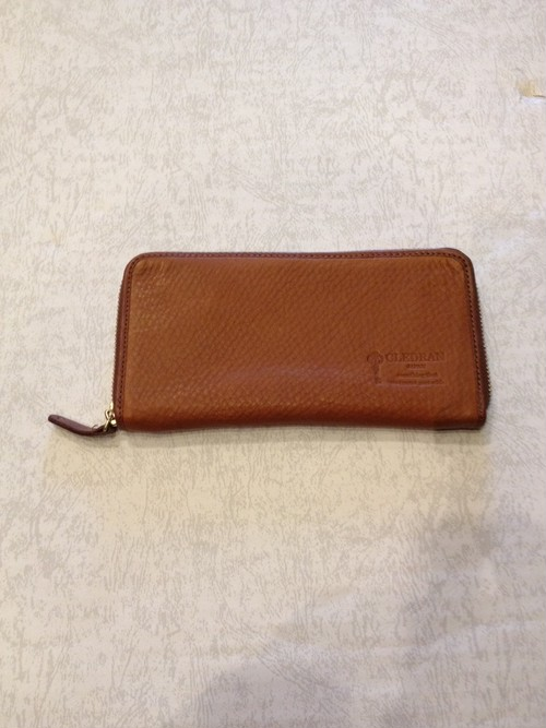 ROUND ZIP LONG WALLET(CLEDRAN)