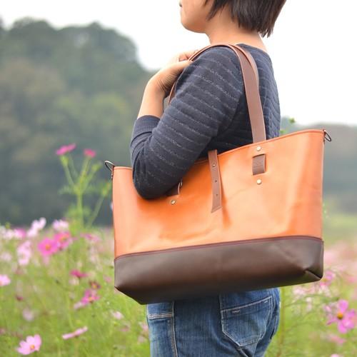 ★NEW★ 牛ヌメ革A4サイズ・トートバッグ【Campus】(全4色)