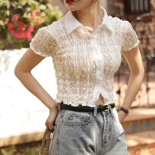 full lace shirt
