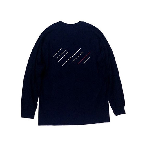 scar /////// Blood L/S Tee (Navy)