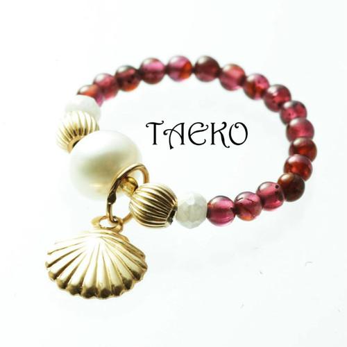 TAEKO model RED リング(送料無料)