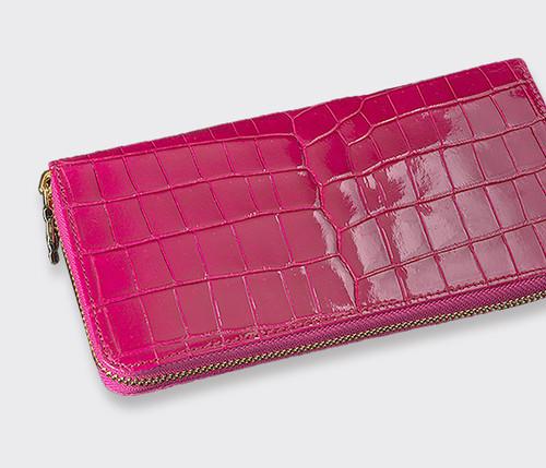 【Felillo】フェリーロ/MEDIUM WALLET【Pink】