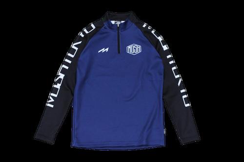 【受注生産】Hex Logo Half Zip Jersey Top(NAVY)