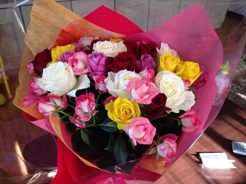 【30本】バラの花束のプレゼント