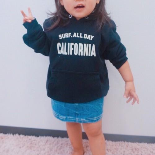 ★Kids★CALIFORNIA hoodie - Black