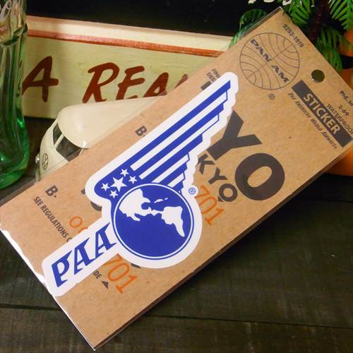 PANAM Sticker (PA-S8:ウイング/USA)