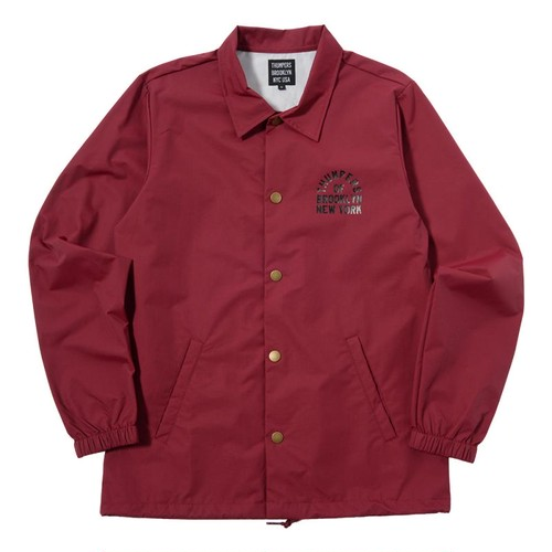 ADD COACHES JACKET (WINE) [TH-17AW-082]