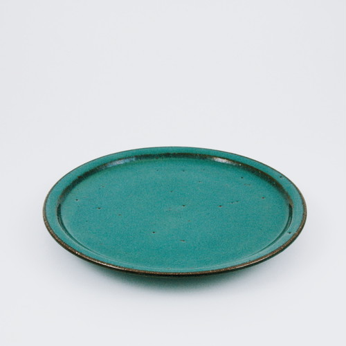 七寸皿 緑釉【再入荷】
