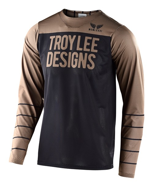20TLD_SKYLINE AIR JERSEY PINSTRIPE BLACK / WALNUT