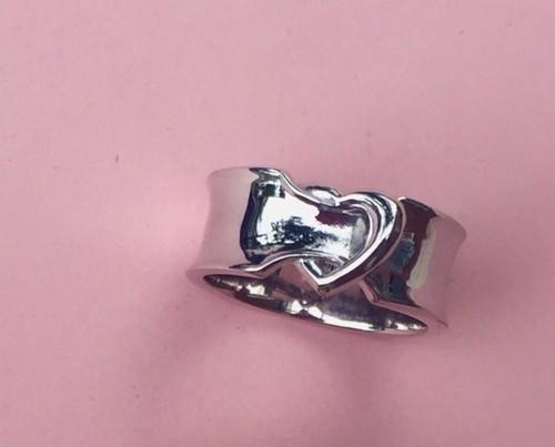 ribbon LOVERING. #0130 silver りぼんラブリング/シルバー