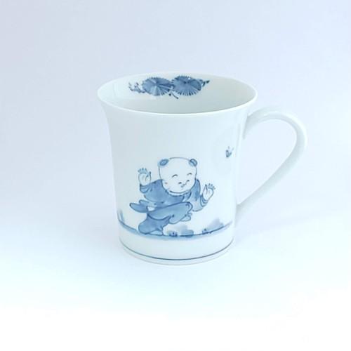 創作唐子 フリーマグカップ(1人絵)