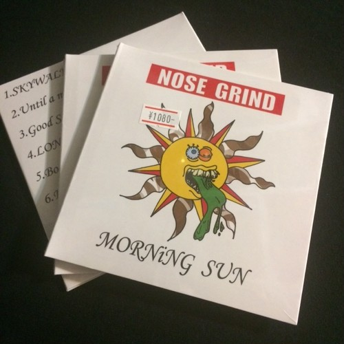 NOSE GRIND / morning sun(ラスト1枚)