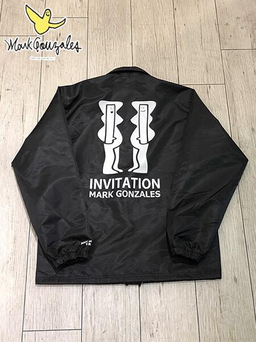 MARK GONZALES (マークゴンザレス) INVITATION COACH JACKET (コーチジャケット) Black (ブラック) 2G5-4911