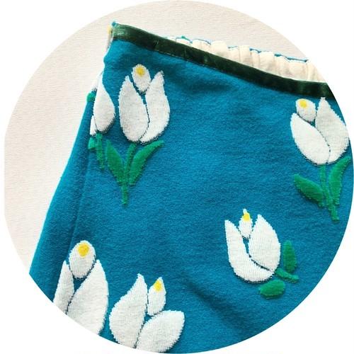 【フレアスカート】tulip//original textile《オーダー可能》