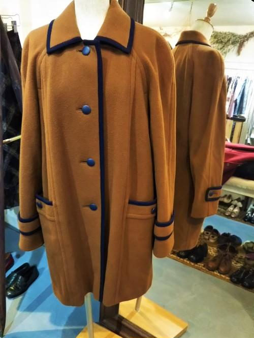 Aquascutum Stand Collar Coat / Made in ENGLAND[1935]