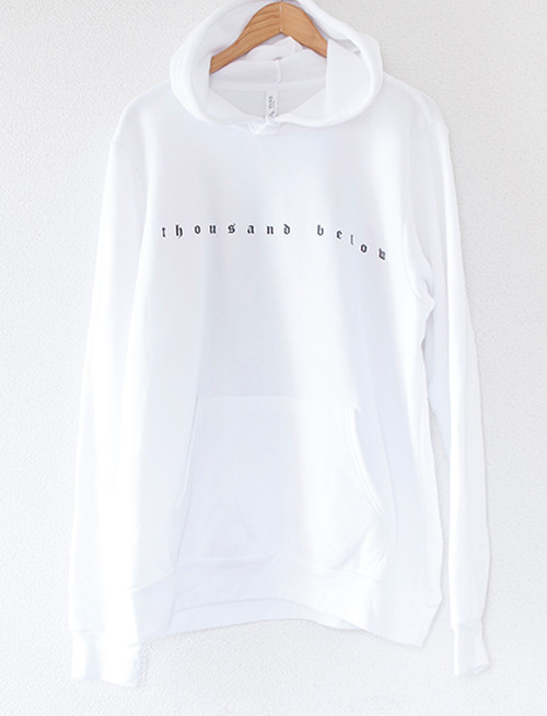 【THOUSAND BELOW】No Place Hoodie (White)