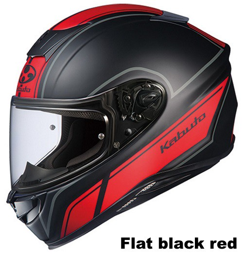 OGK AEROBLADE-5 SMART Flat Black Red