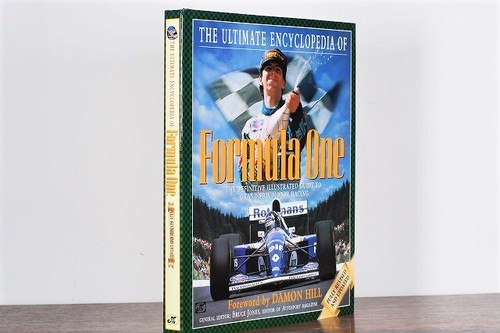 【VS021】The Ultimate Encyclopedia of Formula One: The Definitive Illustrated Guide to Grand Prix Motor Racing /visual book