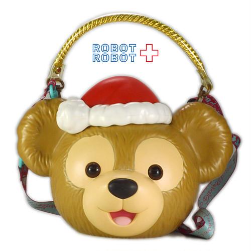 ダッフィー クリスマス ポップコーンバケット 東京ディズニーシー TDS
