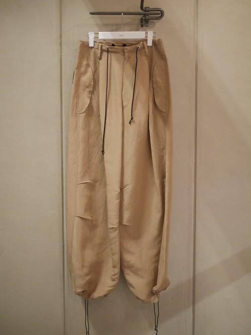 pelleq / front string big throusers  (moca)