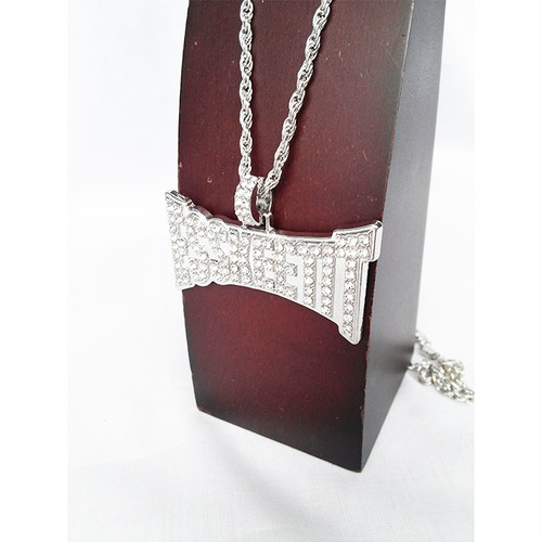 ESSKEETIT シルバー 銀 SILVER ネックレス ヒップホップ HIPHOP 1481
