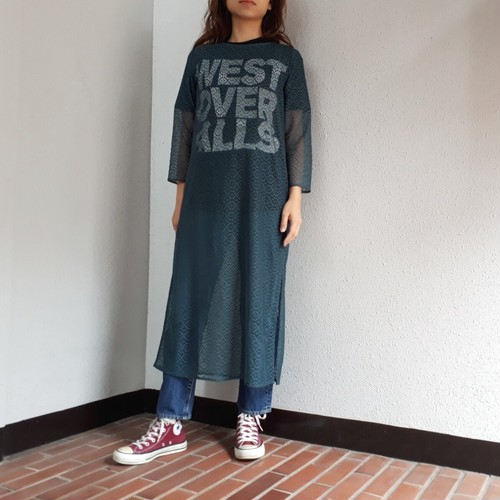 BANAL Comfort Wear (ラッセルレーススリットドレス)