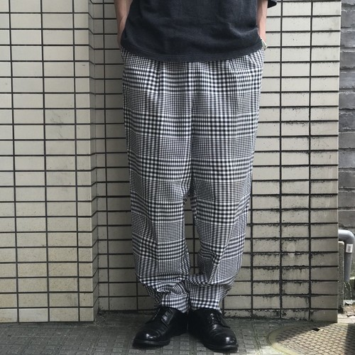 VINTAGE 50's GINGHAM CHECK PANTS