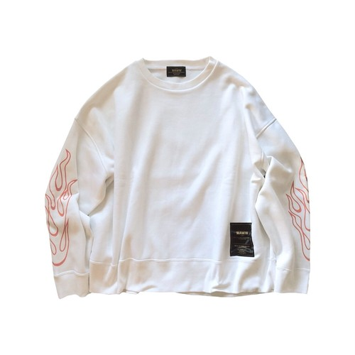 FIRE SWEAT [WHITE]